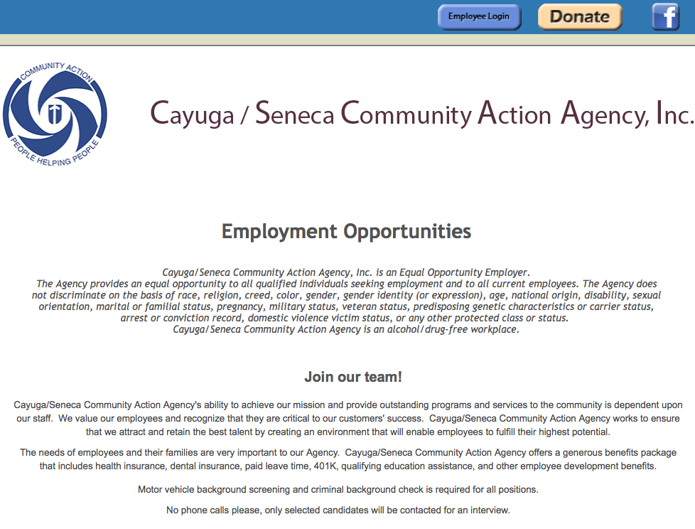 Cayuga/Seneca Community Action Agency
